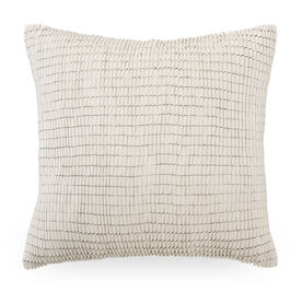 "RIBBON 22"" X 22"" ACCENT PILLOW, , hi-res"