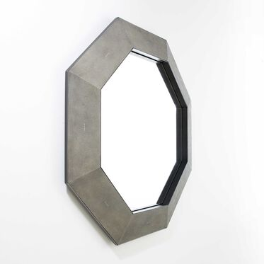 SOLANGE HEXAGONAL MIRROR, , hi-res