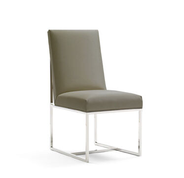 GAGE LOW DINING CHAIR, ALLOY - GUNMETAL, hi-res