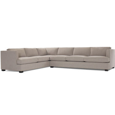 KEATON NAILHEAD TRIM RIGHT SECTIONAL SOFA, FULMER - TAUPE, hi-res