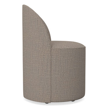 MARGAUX SIDE CHAIR, HOLLINS - DARK TAUPE, hi-res