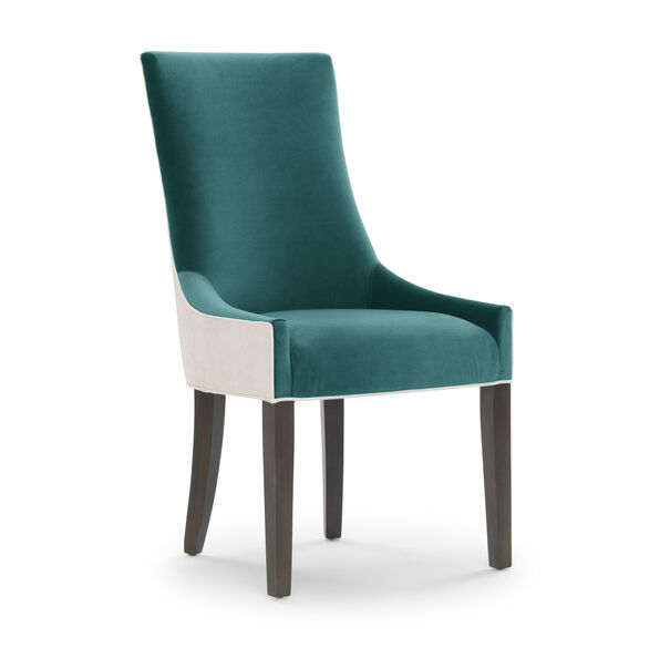 ADA SIDE DINING CHAIR, VIVID - PEACOCK, hi-res