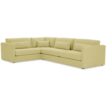 HAYWOOD RIGHT ARM SECTIONAL, SOL - CHARTREUSE, hi-res