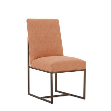 GAGE LOW DINING CHAIR, COSTA - PERSIMMON, hi-res