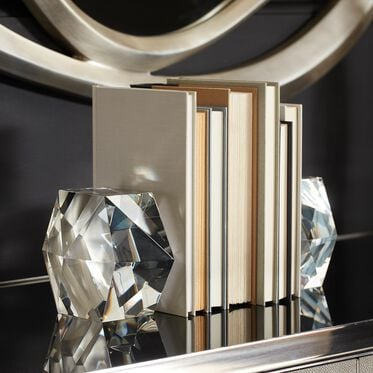 CRYSTAL BOOKENDS, , hi-res