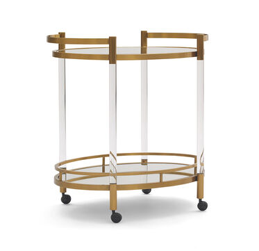 BEVERLY BAR CART, , hi-res