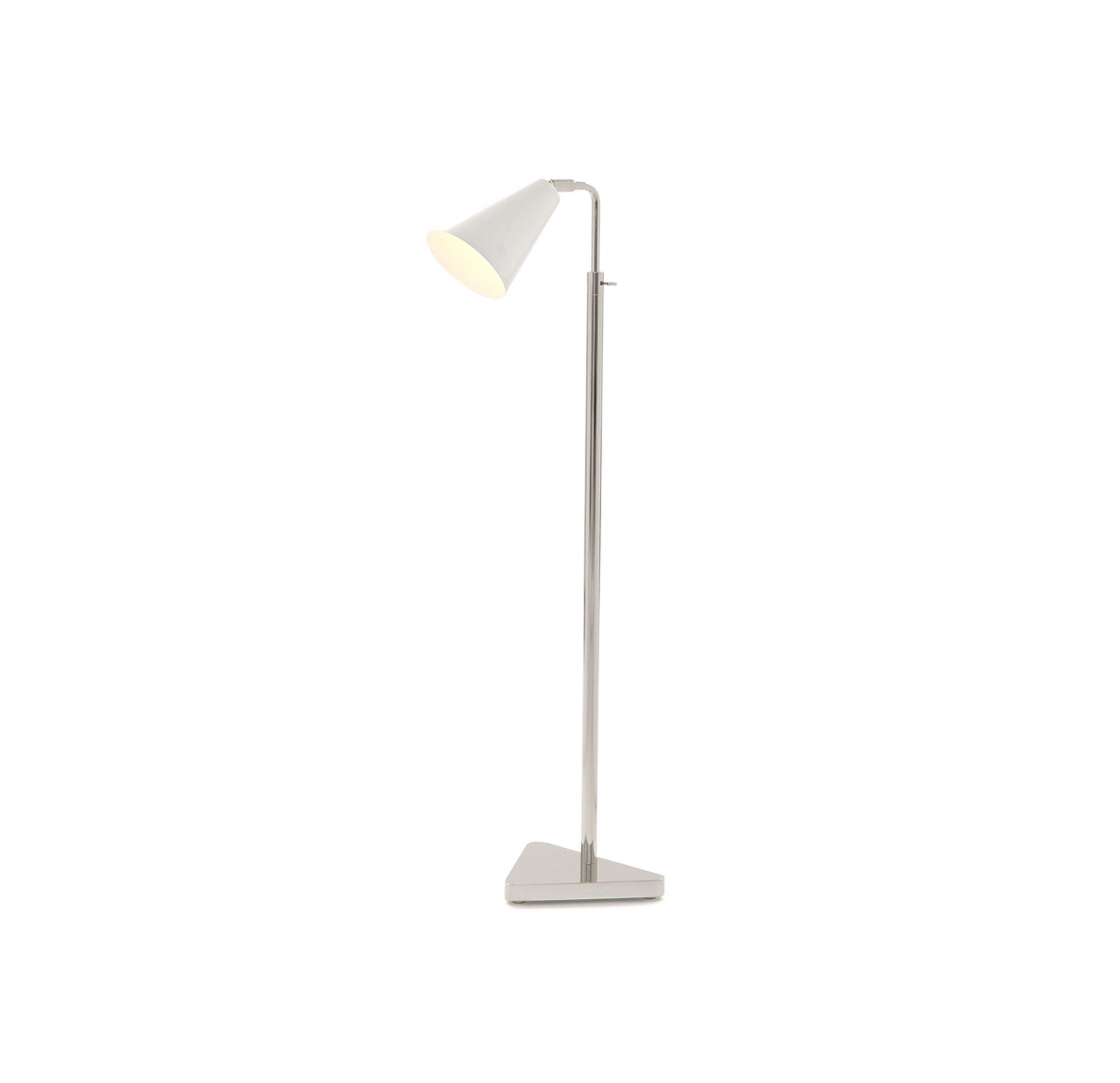 ELLORY FLOOR LAMP - POLISHED NICKEL