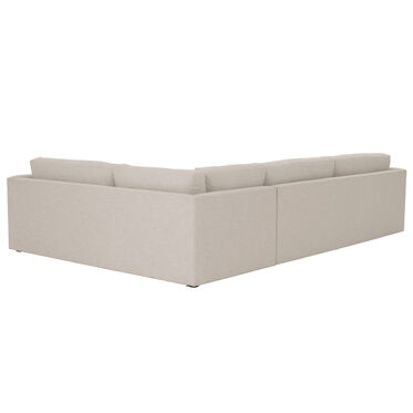 HAYWOOD LEFT ARM SECTIONAL, SOL - PEWTER, hi-res