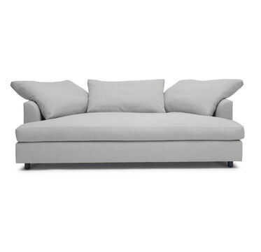 BIG EASY MEDIA SOFA, LINGO - SILVER, hi-res