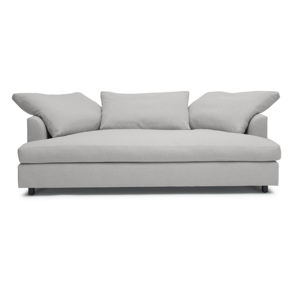 BIG EASY MEDIA SOFA LINGO - SILVER hi-res  sc 1 st  Sofas : chaise lounge bed sofa - Sectionals, Sofas & Couches