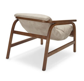 DIXON LEATHER CHAIR, MOAB - TAUPE, hi-res