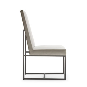 GAGE TALL DINING CHAIR - PEWTER, KOKO - STONE, hi-res