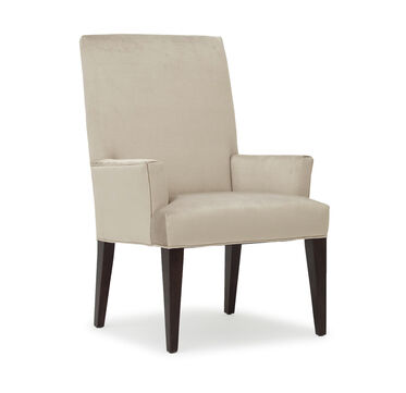 ANTHONY TALL ARM DINING CHAIR, PIPPIN - STONE, hi-res