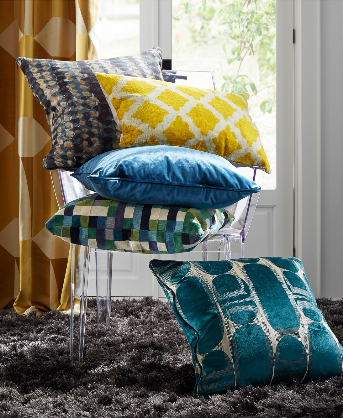 Assorted Throw Pillows