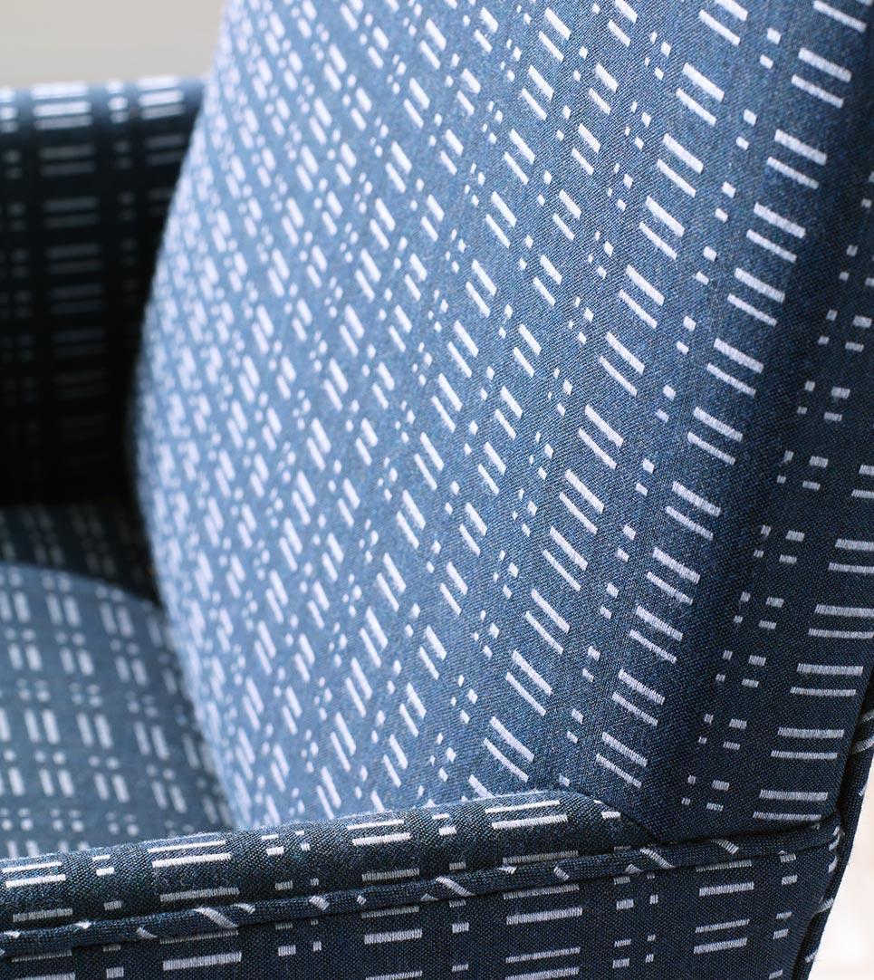 Dot Dash Fabric Closeup