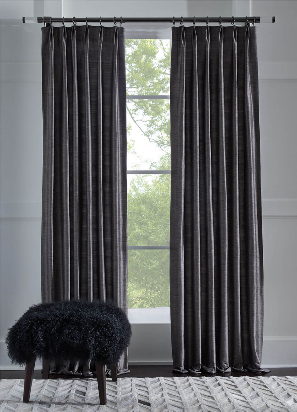 Kingsley drapery collection: Semi-Sheers