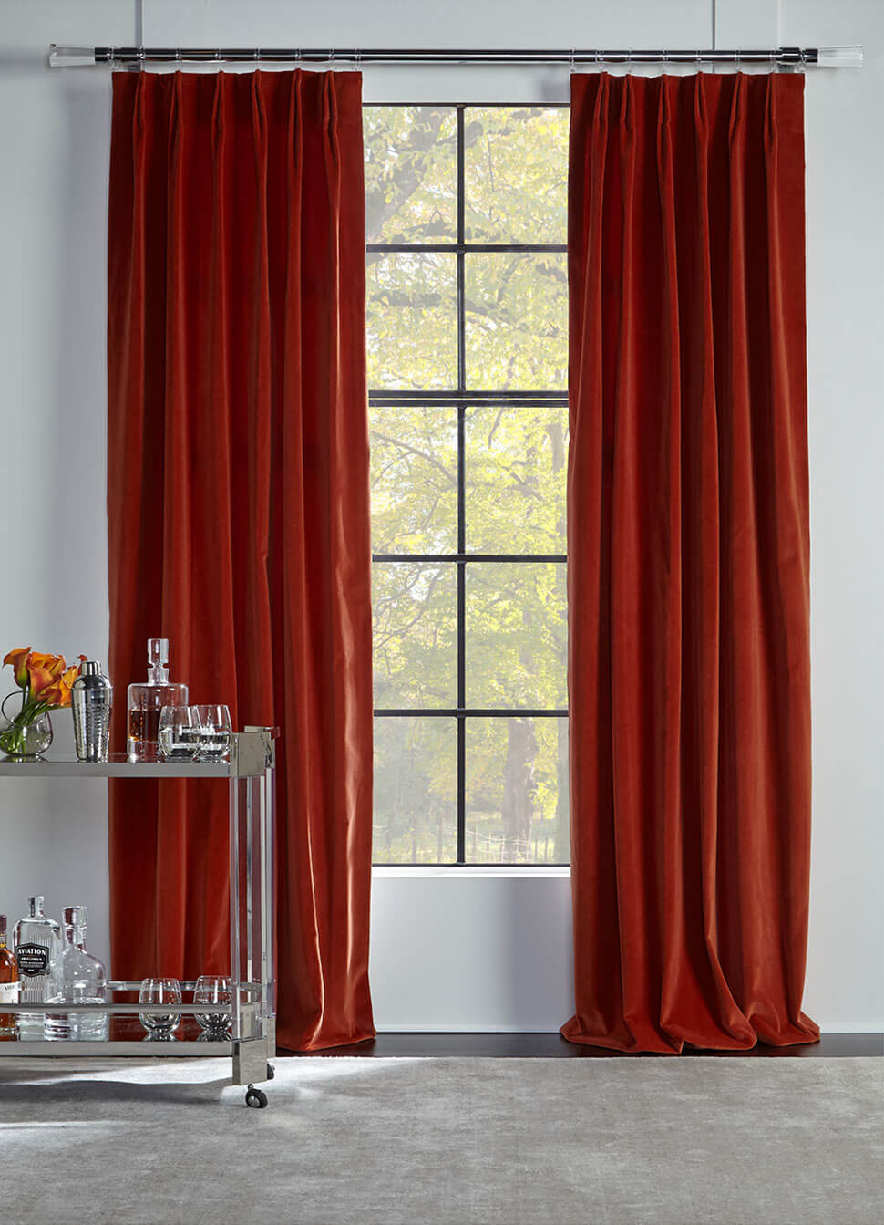 Avignon drapery collection: Velvet