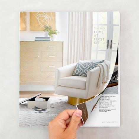 Bianca Swivel Chair cover Fall 2019 Catalog