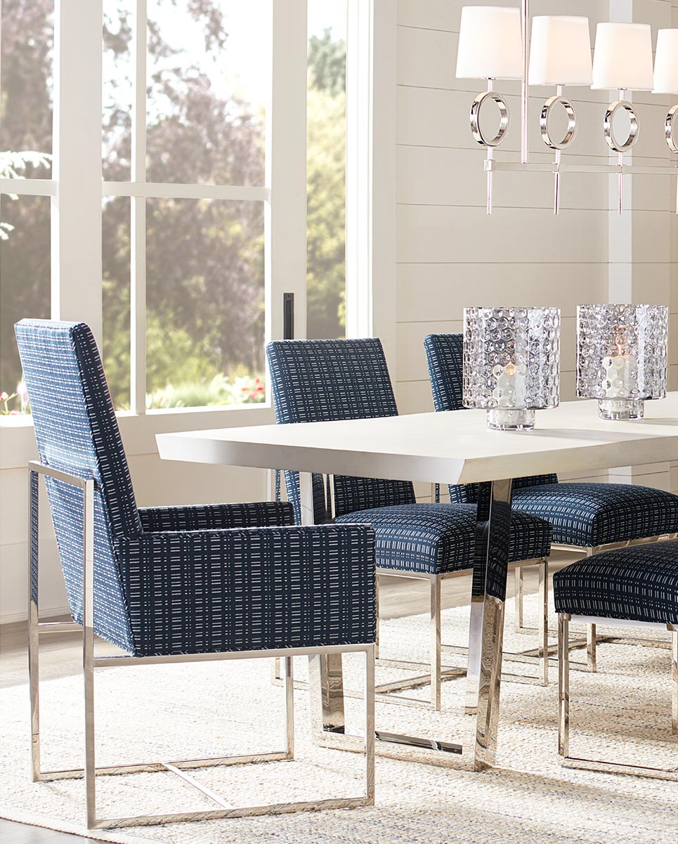 Gage Dining Chairs with Kimora Dining Table