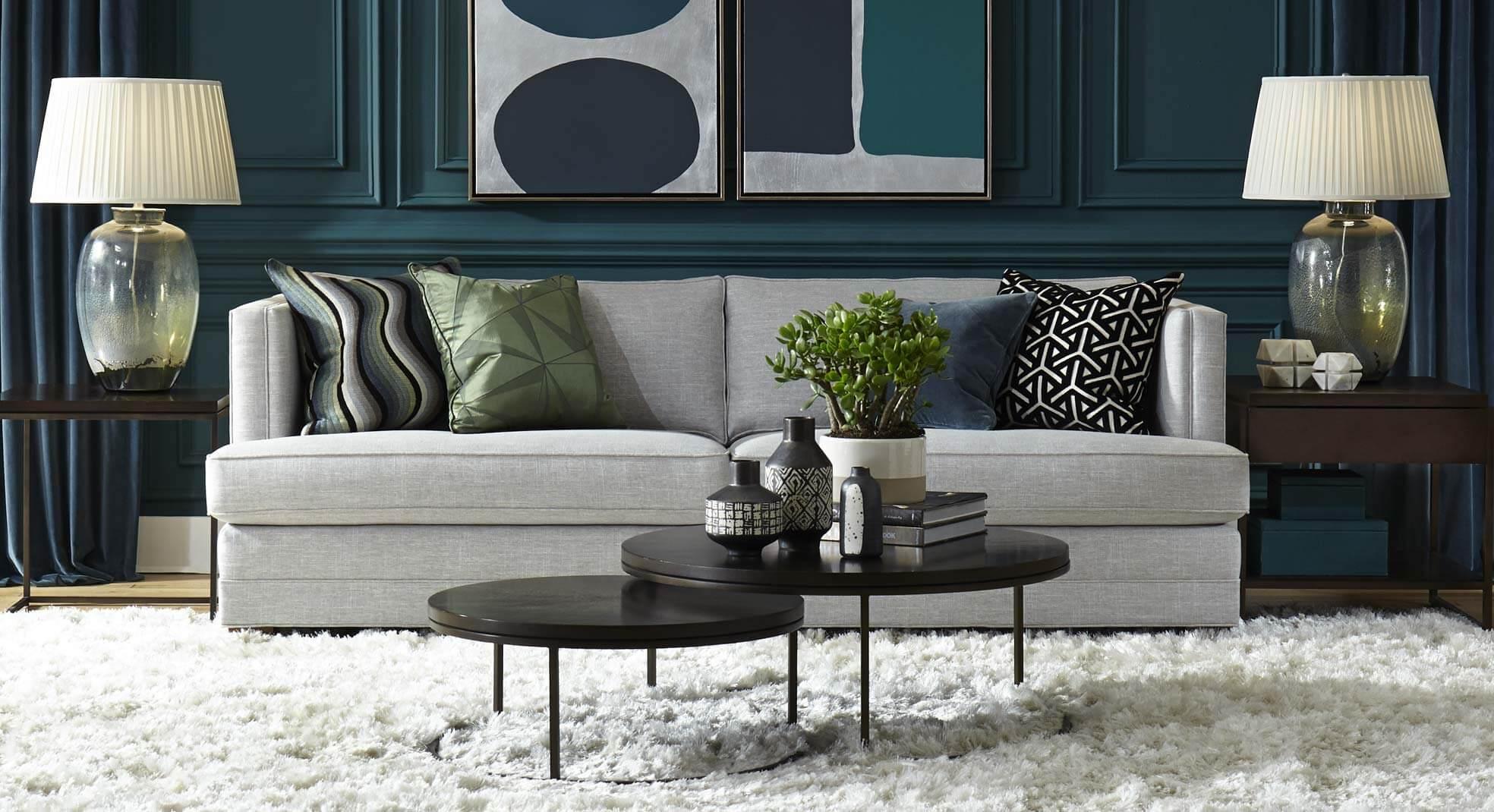 Keaton Sofa - Fall 2019 Living Room Setting