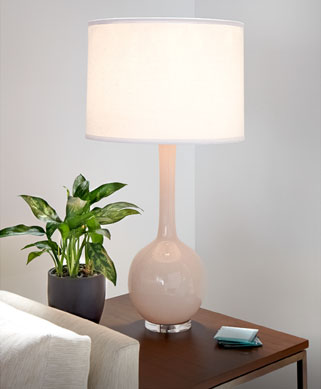 Rosey lamp