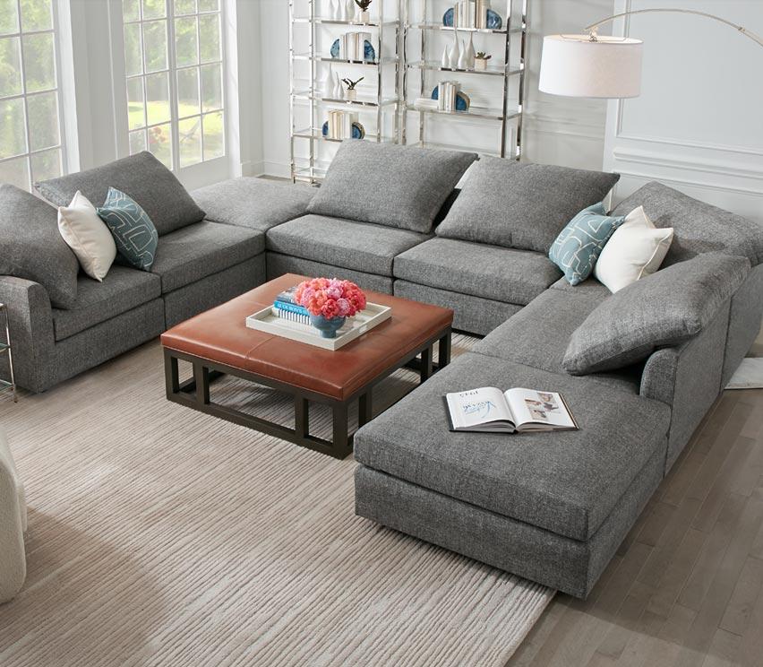 Supernova Leather sofa