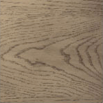 Casegood finish swatch in Cedar Gray