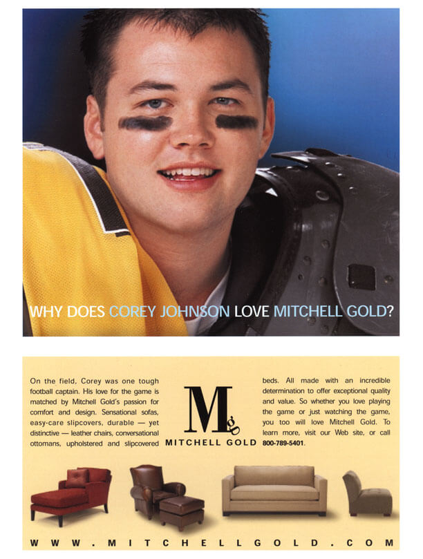 Why Does Corey Johnson Love Mitchell Gold