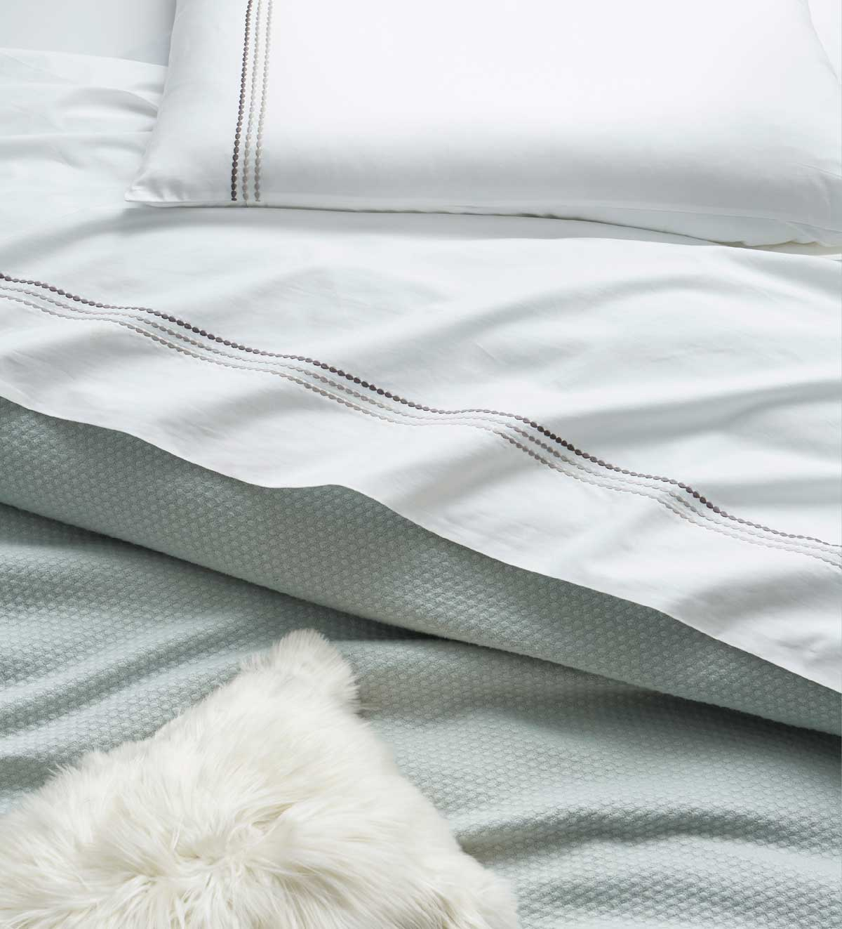 Dreamy Details - Dress the bed in calming hues and luxurious layers
