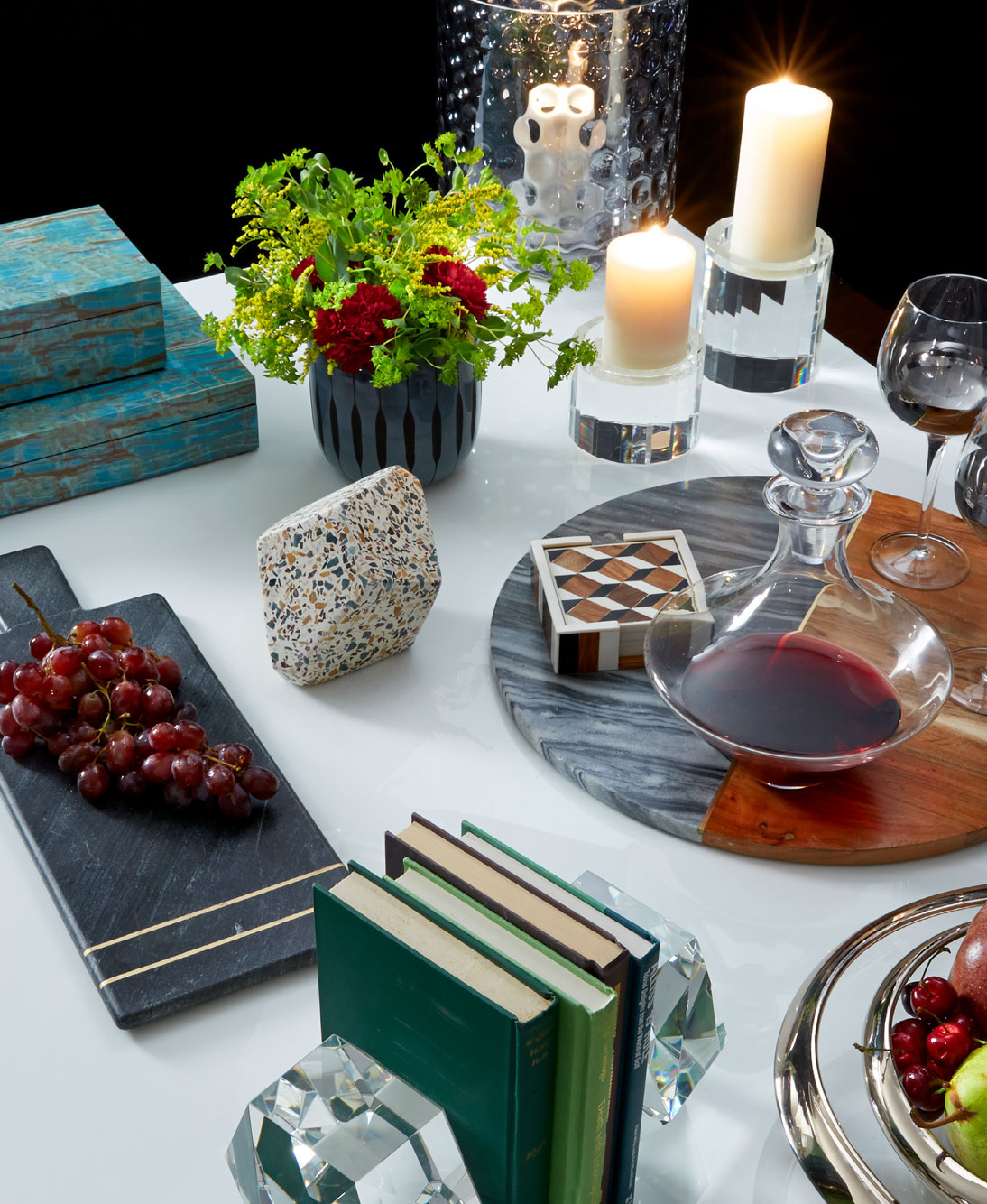 Assorted decor and accessories
