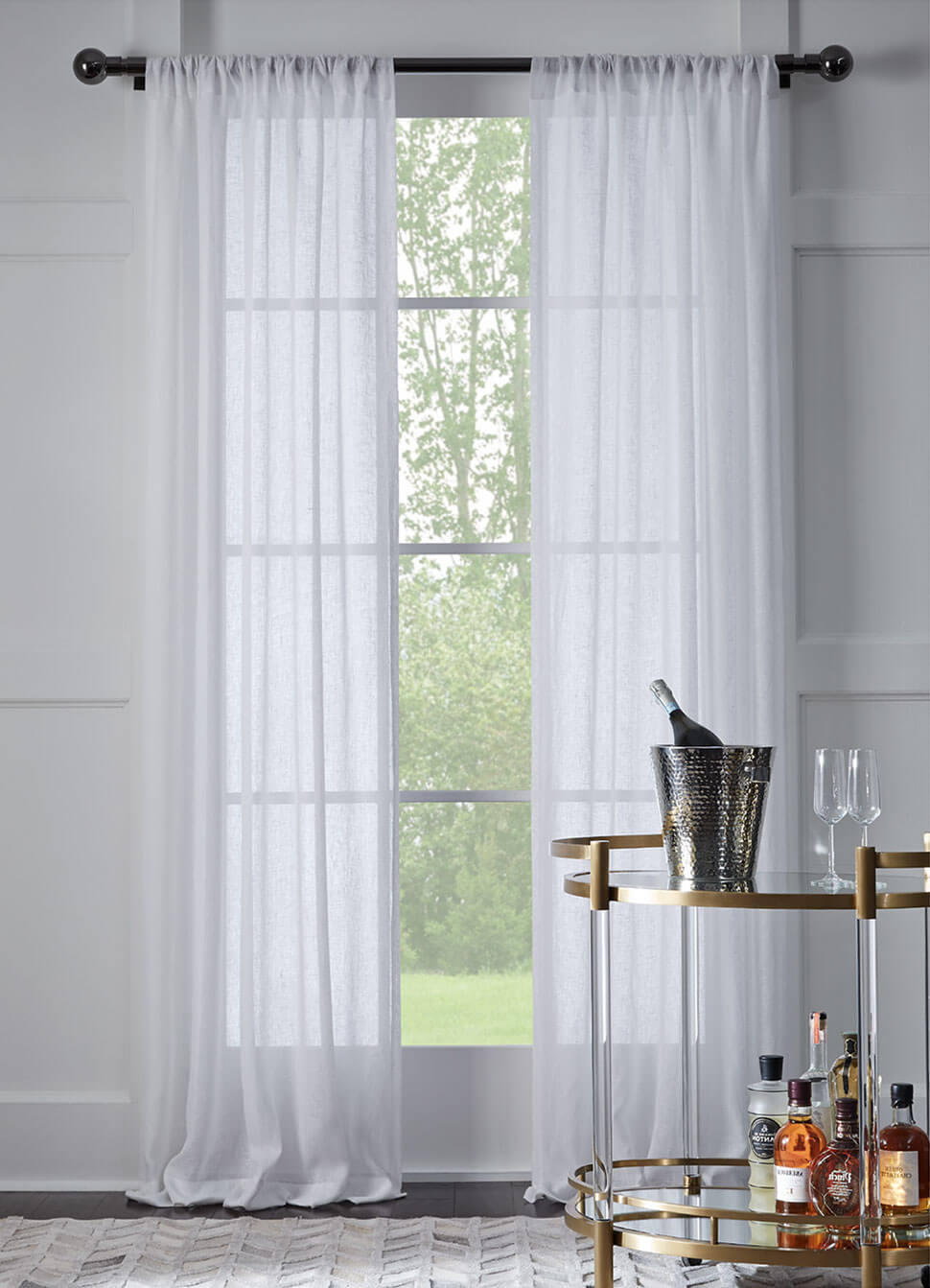 Noble drapery collection: Sheers