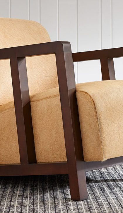 Specialty Leather Chair