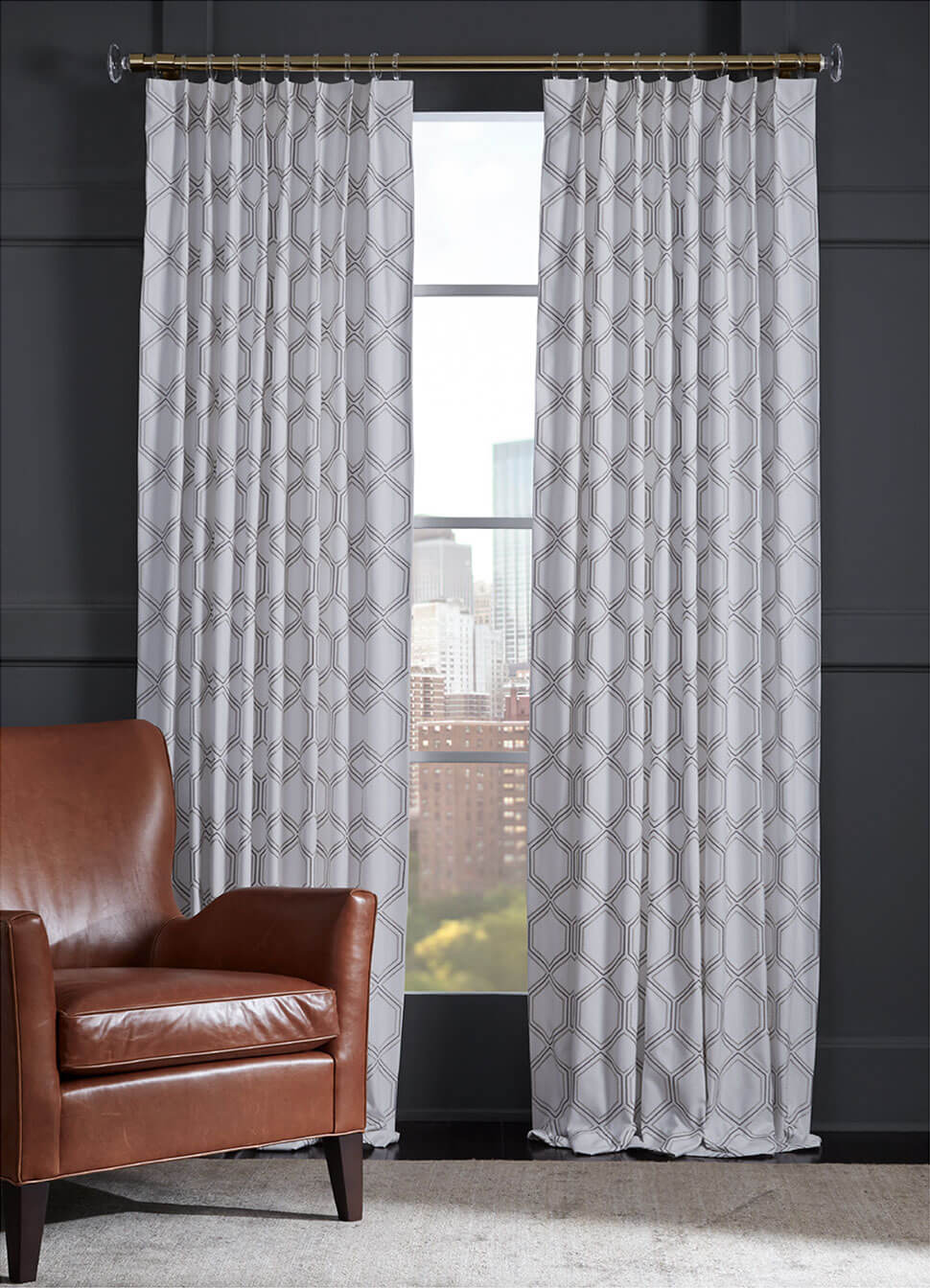 Spencer drapery collection: Pattern