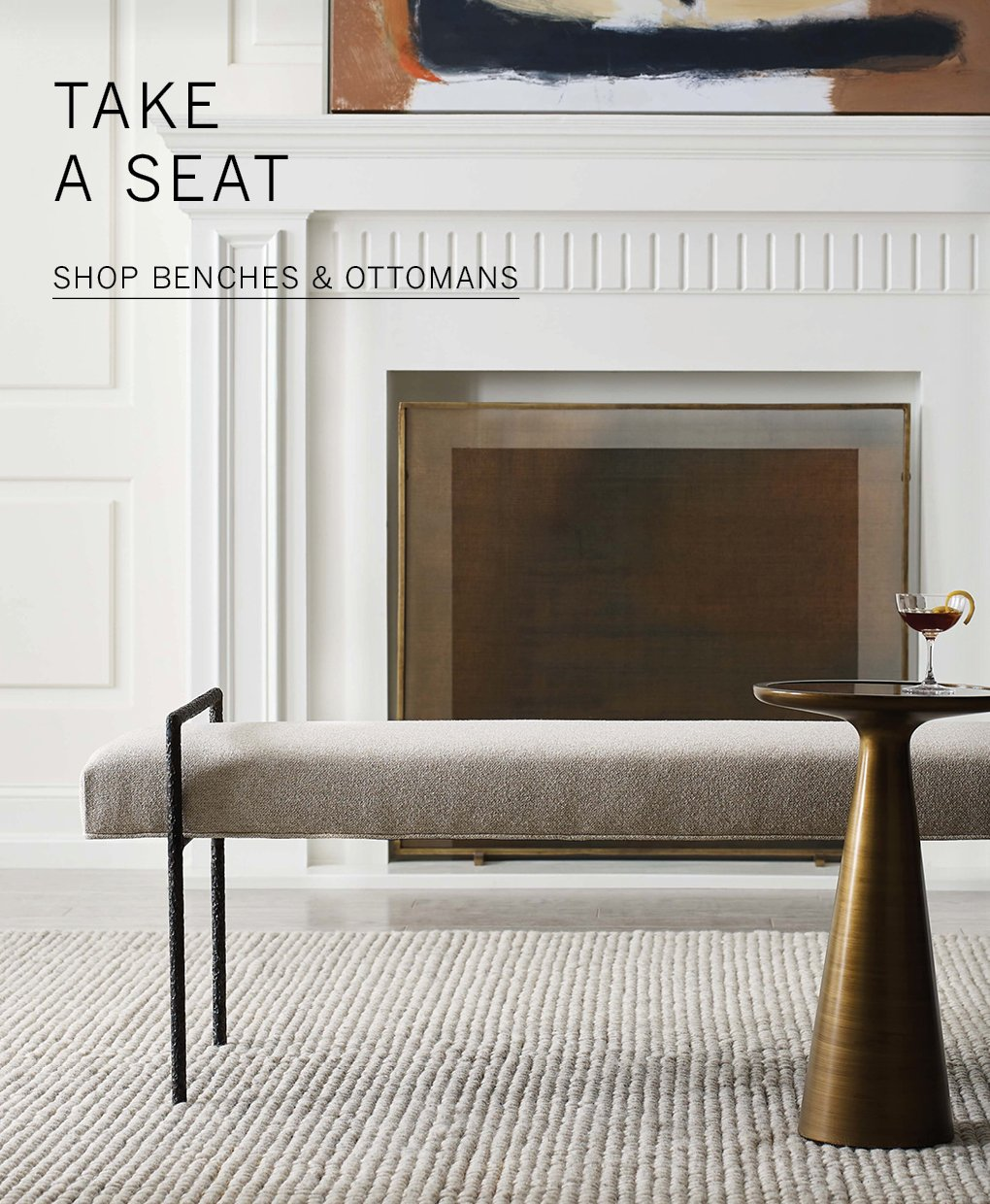 Shop Benches & Ottomans