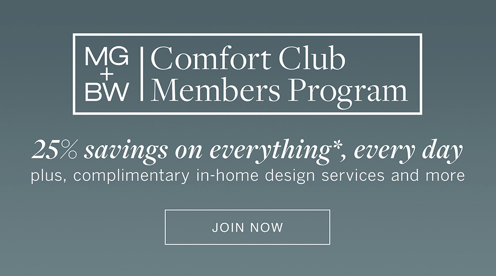 MG+BW Comfort Club Members Program - Join now