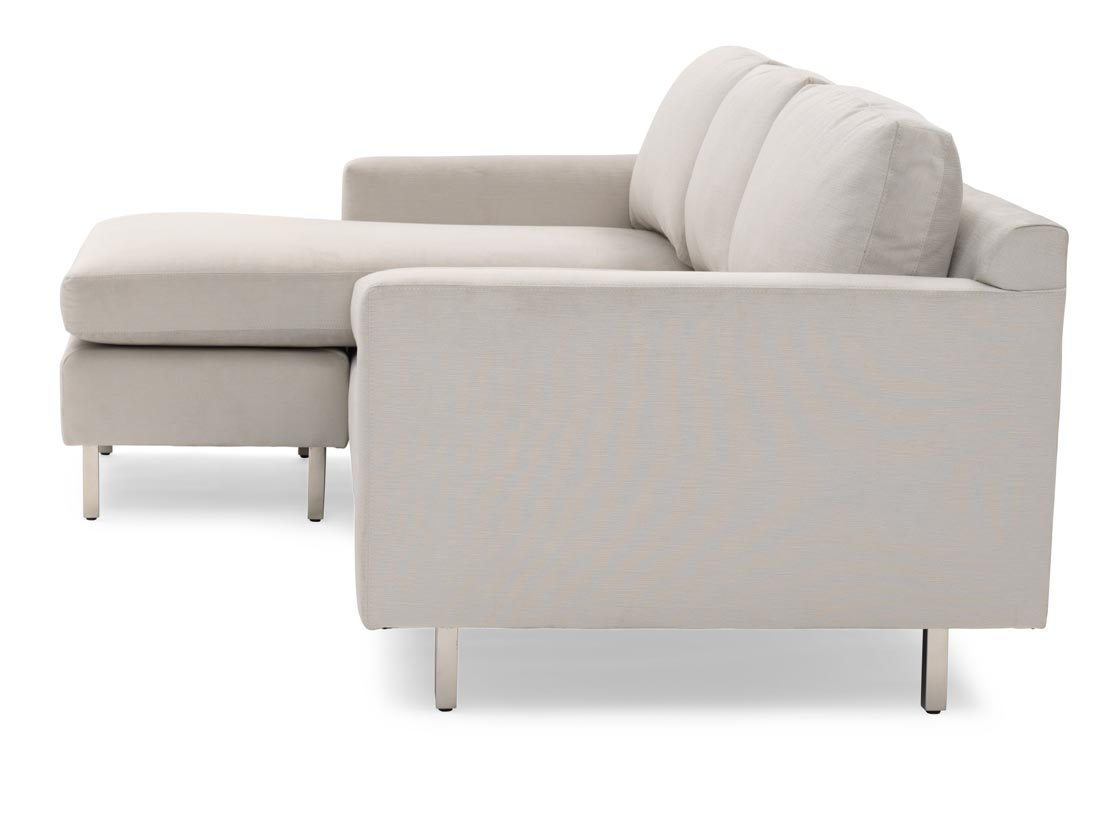 Hunter Studio Reversible Chaise Sectional side view