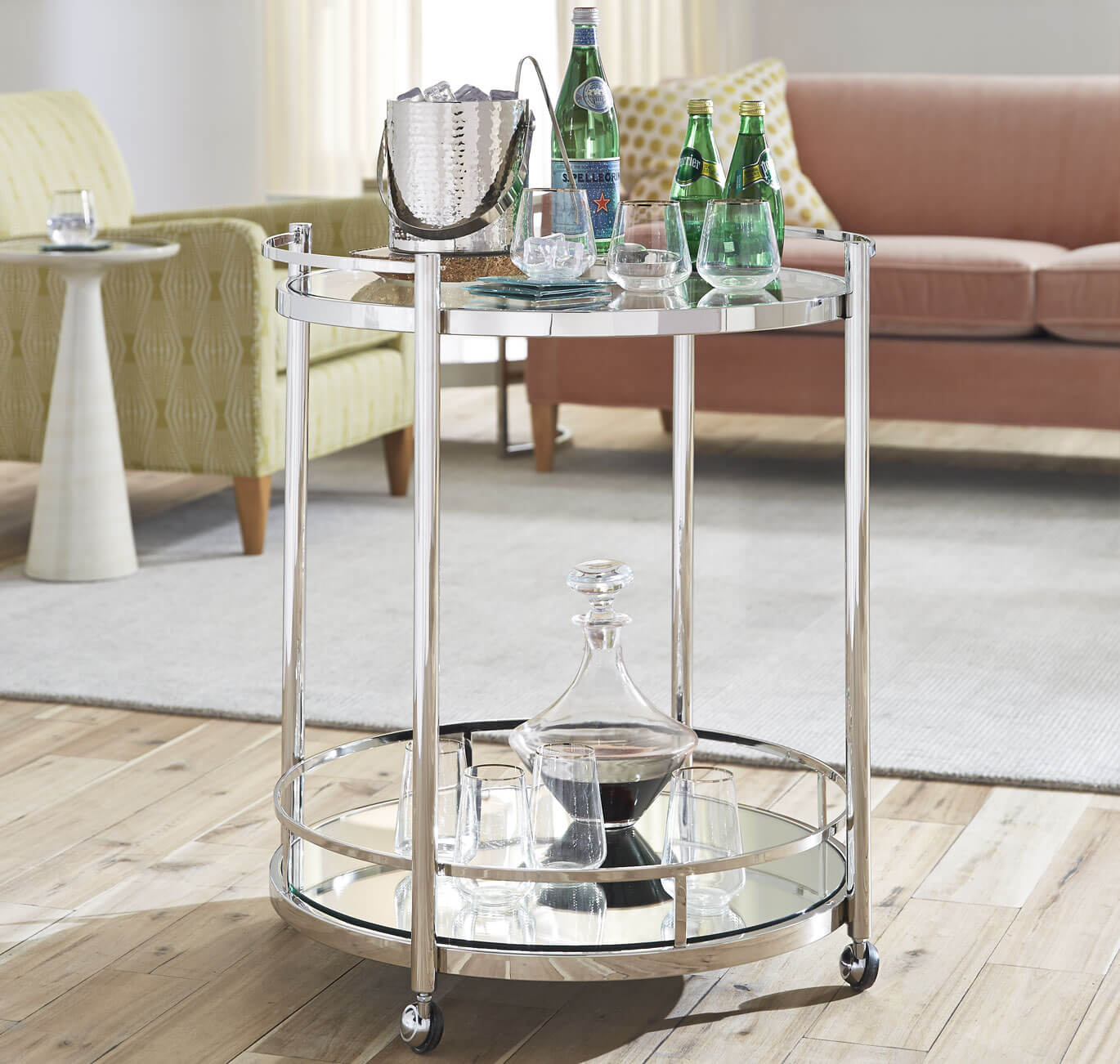 Spritz Bar Cart Setting