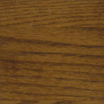 Casegood finish swatch in Ginger