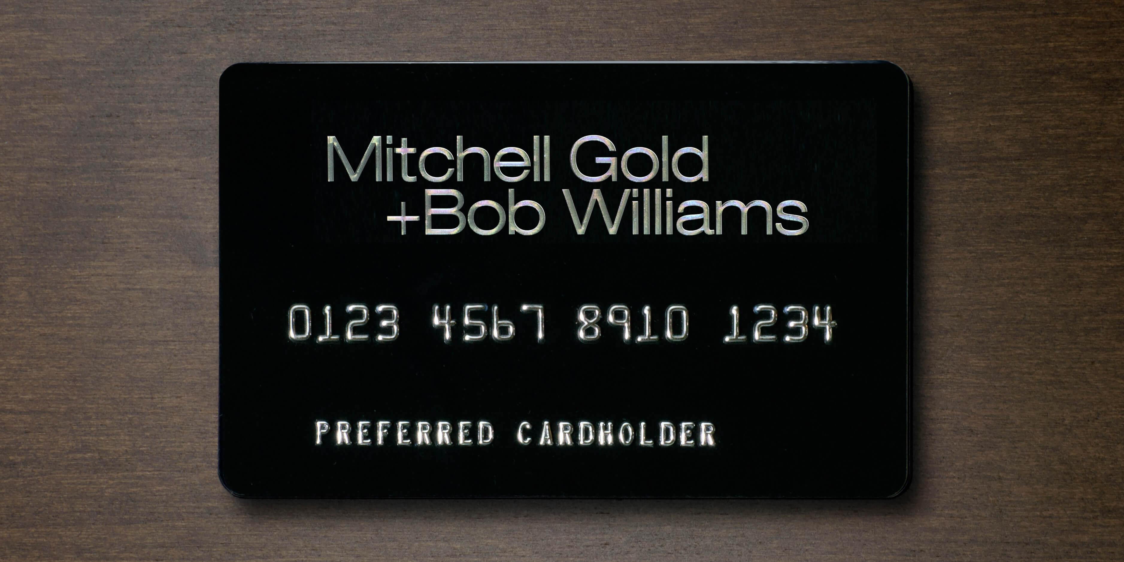 MGBW Credit Card