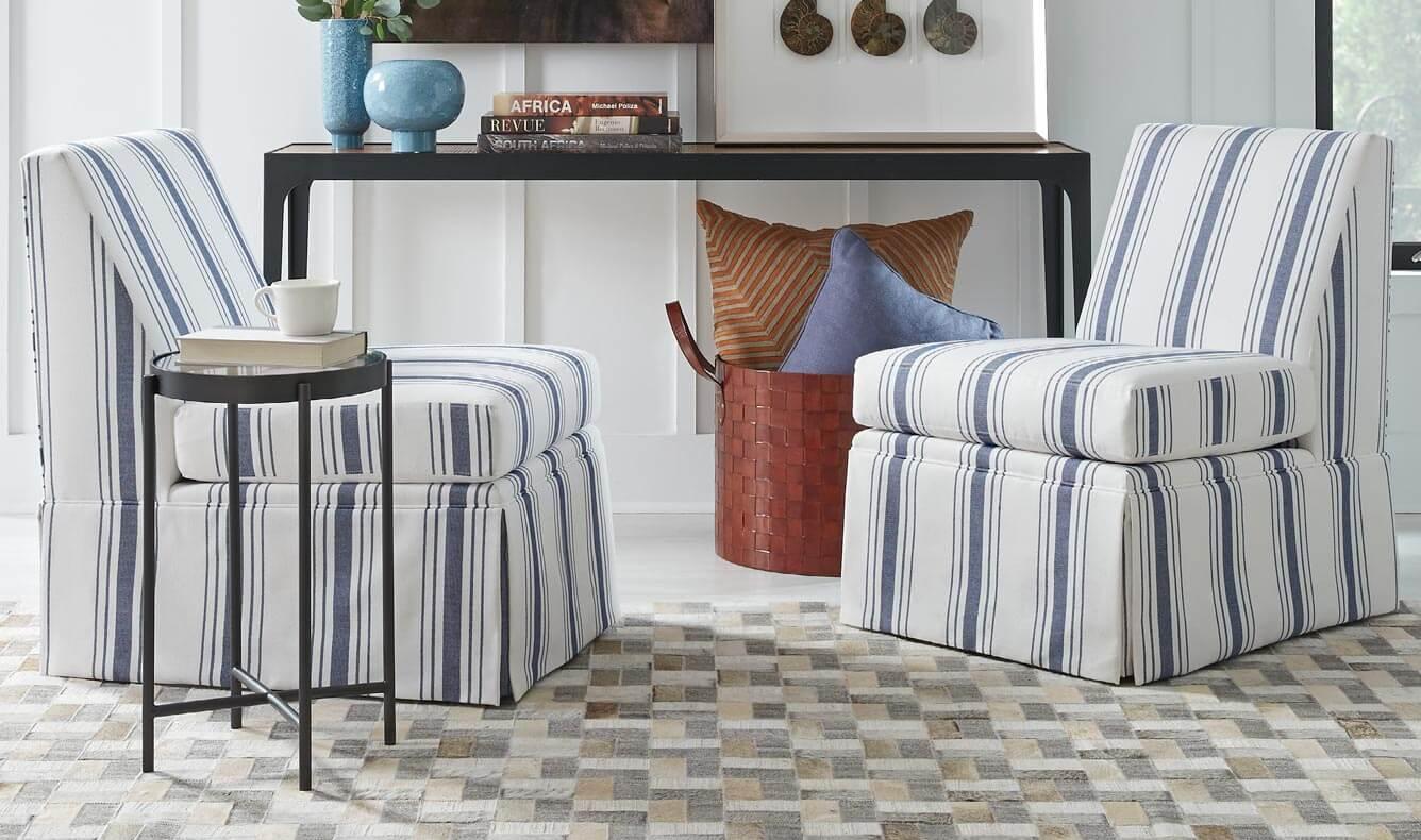 Annie Skirted Chairs