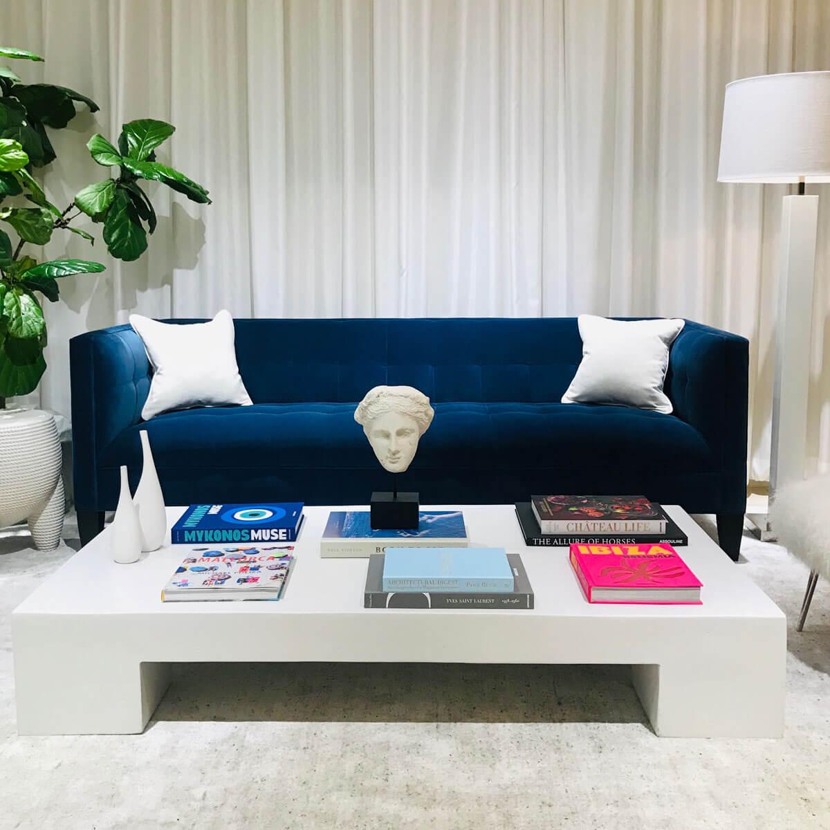 Kennedy Sofa with Santorini Cocktail Table