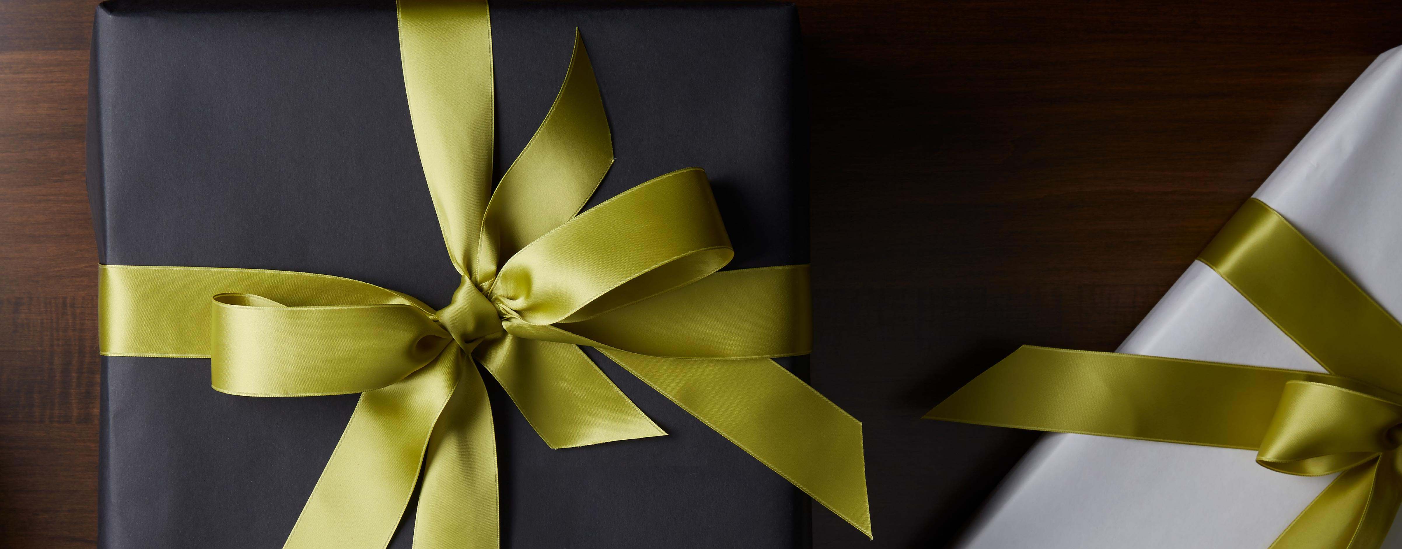 Holiday wrapped gifts image