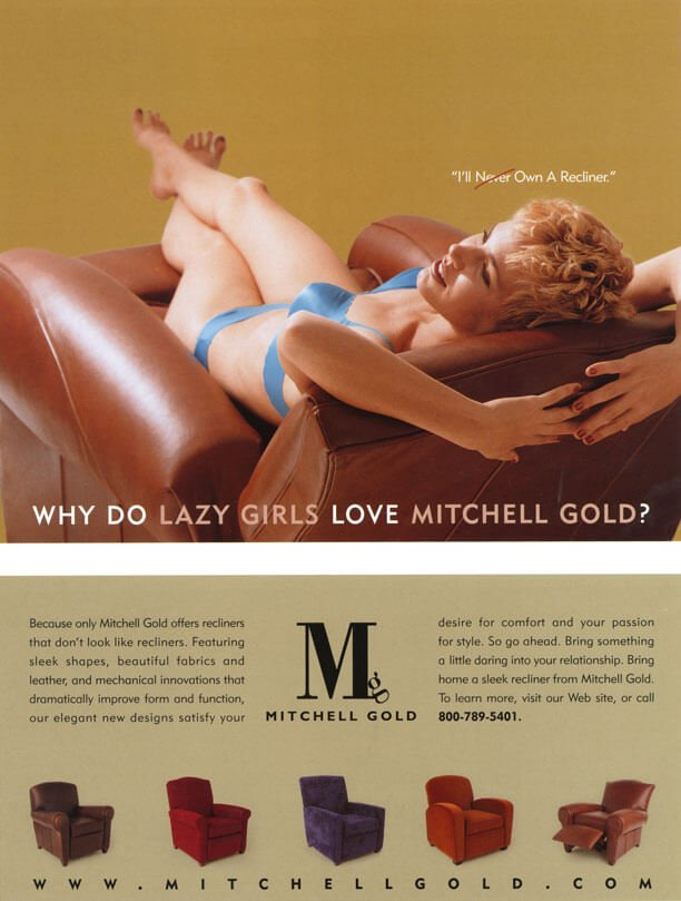 Why Do Lazy Girls Love Mitchell Gold