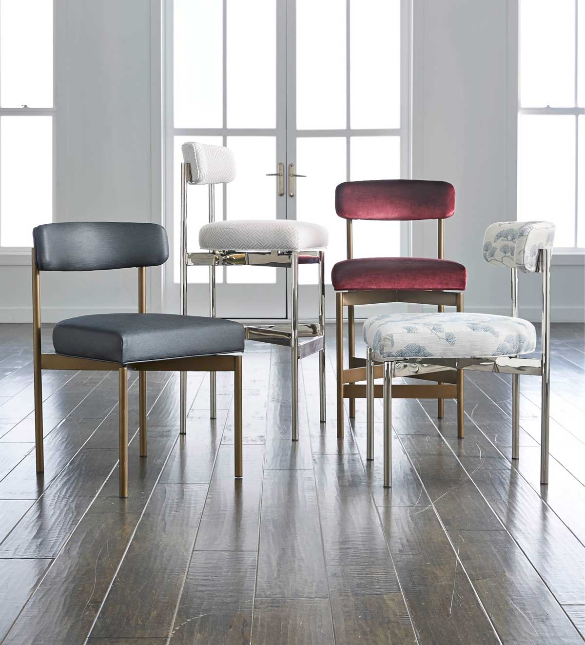 Dining chairs and barstools in a host of styles