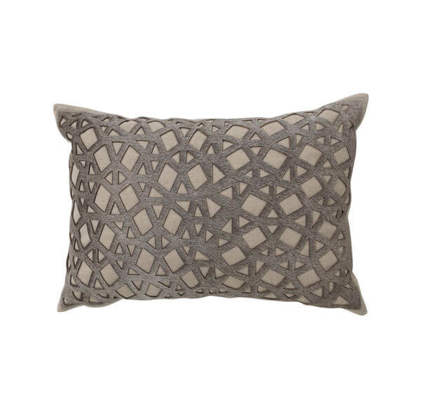 Laser Cut Hide Pillow
