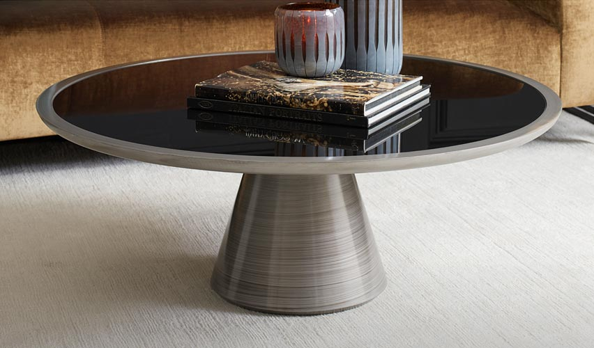 Addie Pewter Cocktail Table