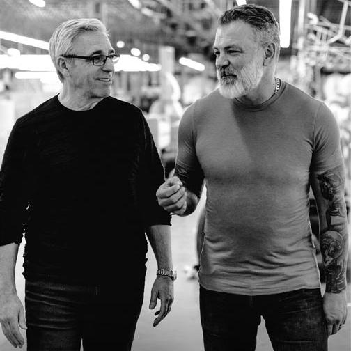 Bob + Mitchell Walking