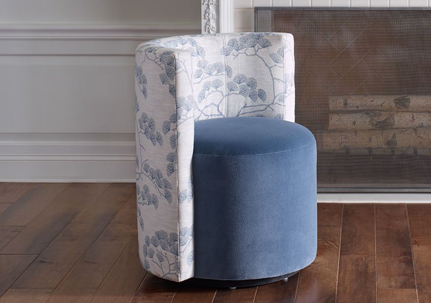 March Sweepstakes - Poppy Swivel Chair