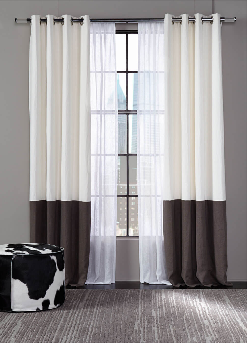 Belgian Linen drapery collection: Linens
