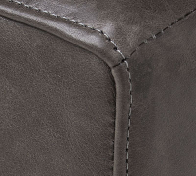 seams in leather
